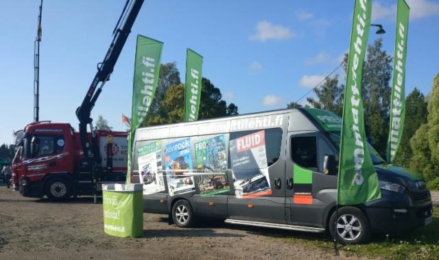 Mid Finland Truck Meeting Viitasaarella - Ammattilehden Mediamobiili mukana menossa!