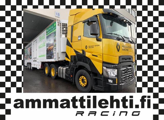 Ammattilehti Racing-teemalla Power Truck Showssa osastolla U3216 - tervetuloa viihtymään Mediarekkaan!