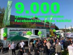 Ammattilehden Facebook sivuilla jo yli 9.000 tykkääjää - määrä kasvaa ennätystahtia!