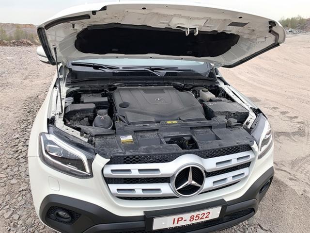 AMMATTILEHTI KOEAJAA: Mercedes-Benz X 350 d 4Matic Progress - Harvojen herkku