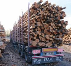 Raakapuun kuljetuksiin Forssan Lava ja Huolto Oy valmistaa 5-akselista ESAPE -perävaunua, joita on toimitettu asiakkaille jo kymmenkunta kappaletta.