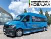 AMMATTILEHTI KOEAJAA: MAN TGE 3.180 FWD Retkeilyauto - Toimisto tienpäällä