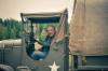 Koeajettu, täydellisesti restauroitu GMC CCKW 353 (Jimmy) 6X6 2,5 ton sisältyy AVS-Yhtiöiden omistajan Antero Parman mittavaan sotahistoriallisten ajoneuvojen yksityiskokoelmaan.