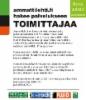 Ammattilehti.fi hakee palvelukseen toimittajaa - jos kiinnostuit ota yhteyttä