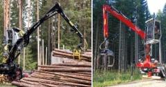 V-Kran ja Penz: Järkivaihtoehdot puutavaranosturiksi