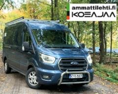 AMMATTILEHTI KOEAJAA: Ford Transit Van Limited 350 L3H2 - Legendaarinen Transit uudistui