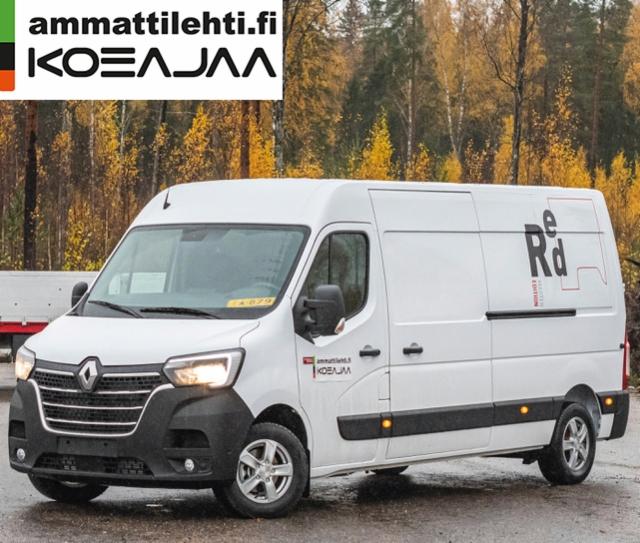 AMMATTILEHTI KOEAJAA: Renault Trucks Master L3H2 150 M6 Red Edition - Ammattiautoilijoiden tarpeeseen