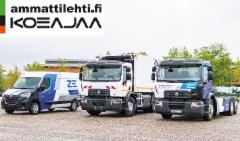 AMMATTILEHTI KOEAJAA: Renault Trucksin sähköautostrategia tarkentuu lähikuljetuksiin