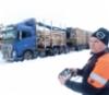 Kuljetus S. Simpasella radio-ohjattava Volvo -tukkiauto