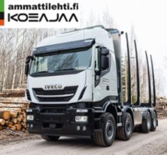 AMMATTILEHTI KOEAJAA: Iveco Stralis X-Way AS340X57 8x4 puutavara-auto - Uusi haastaja kantavuuskilpailuun