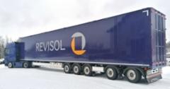 Laurinaho-Yhtiöt Oy:ltä valmistui tammikuussa 2020 Revisol Oy:lle 19,3 metrinen kävelevälattiainen puoliperävaunu missä tilavuutta 160 kuutiota