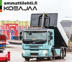 AMMATTILEHTI KOEJAA: Volvo FE Electric ja FL Electric - Vakuuttavia täyssähköautoja kuorma-autoluokkaan