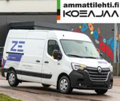 AMMATTILEHTI KOEAJAA: Renault Trucks Master Z.E. - kestävien kuljetusratkaisujen etulinjassa