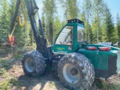 Pro Silva on ollut Kaitajärven tilalle luonnollinen valinta harvesteriksi: rakenteeltaan yksinkertainen kone sopii energiaurakointiin ja ne valmistetaan kotipitäjässä Ruovedellä
