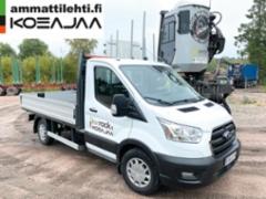 AMMATTILEHTI KOEAJAA: Ford Transit 350 L2 Trend 2.0 TDCI EcoBoost 130 hv A6 - Rahalle vastinetta