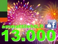 Ammattilehden Facebook sivuilla jo yli 13.000 tykkääjää ja yli 14.000 seuraajaa - määrä kasvaa huimaa tahtia!