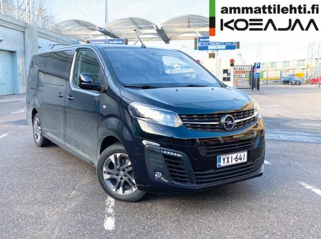 AMMATTILEHTI KOEAJAA: Opel Zafira Life L 180 D Turbo A Executive - Monikäyttöinen tila-auto