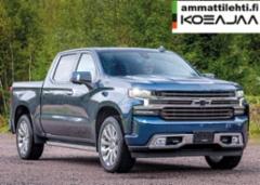 AMMATTILEHTI KOEAJAA: Chevrolet Silverado 1500 4x4 3.0 Duramax High Country - Pirteä polttoainepihi diesel-Chevy
