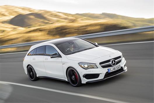 Cla Shooting Brake >> Mercedes Benz Cla Shooting Brake Kompaktiluokan Kaunein Ja