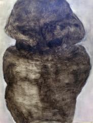 Karkoitus, öljy mdf-levylle, 134x103 cm