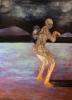 Apinavaeltaja, öljy mdf-levylle, 180x130 cm