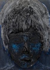 sukupolvi Ö, öljy mdf-levylle, 30x20 cm