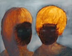 sukupolvi Ö, öljy mdf-levylle, 50x60 cm
