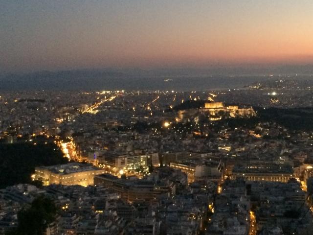 Ateenan iltaa