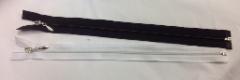Vetoketju (avo) musta tai valkoinen pituudet 25cm, 30cm tai 35 cm hinta 1,20 kpl tai 10 kpl 10 euroa