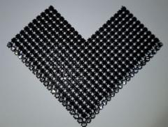 Nro 4 kivilovipala musta tai harmaa ja kirkas 1 rivinen kivikoko ss6 laattojen päälle hinta 70 euroa