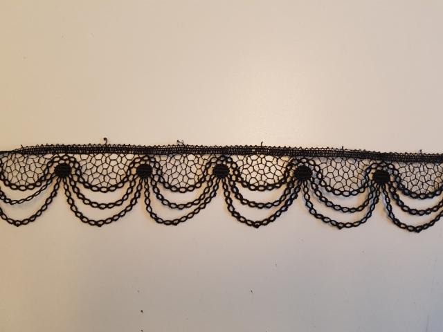 5 musta ketjupitsi leveys 5 cm pakassa 19-20 metriä hinta 20 euroa tai