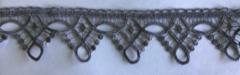 9 Tumman harmaa lovipitsi tärkätty keskikova pakassa noin 19.5-20 metriä 25 euroa tai 5 pakettia 100 € (lajitelma mahdollisuus)