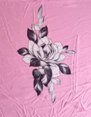 90 Kovasifonki pinkki leveys 150 cm hinta 25 euroa