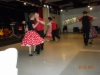 Kulttuuriviikon tanssiaisissa esitys.
