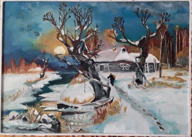 Talvinen auringonlsku (Klever)