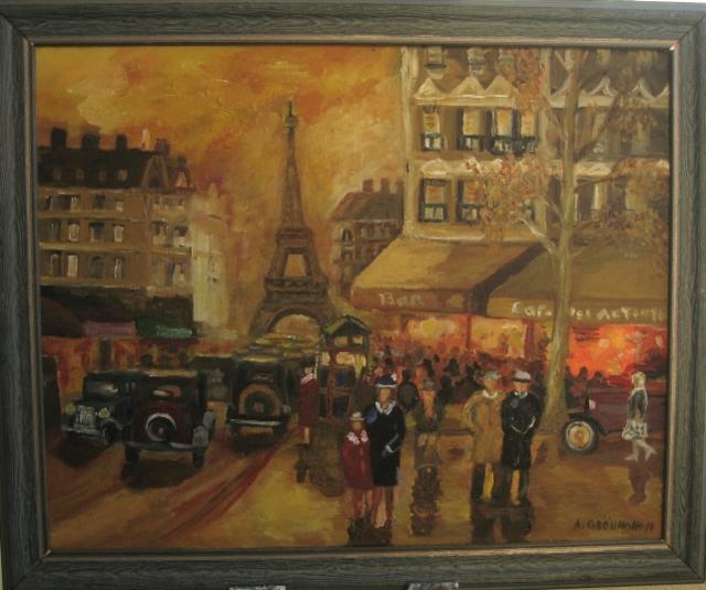 Syyspäivä Pariisissa