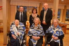 100-vuotiaita tapaamassa Suomi 100