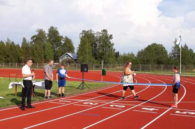 Punkalaitumen uudistetun urheilukentän avajaiset 2.8.2018