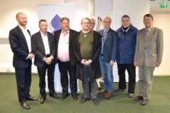 Sinisten eduskunta vaaliehdokkaita ja ministeri 10.11.2018