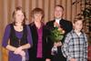 Suvi, Jaana, Ari ja Miika 2008 kappalaisen virkaan asettamisen juhlassa