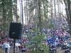 Mikkeli-Jukolan Metsäkirkkoon osallistui noin 600 ihmistä