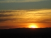 Auringonlasku Windhoekissa (Namibia)