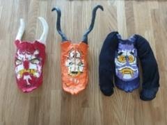 Lego Ninjago inspired Oni Masks
