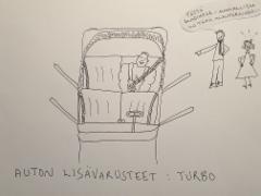 Auton lisävarusteet: turbo