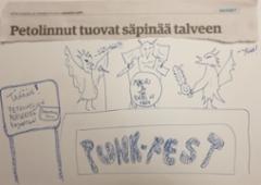 UUTISOTSIKOT: Säpinää / Tribuutti Maukka Perusjätkälle