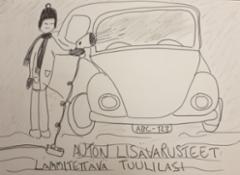 Auton lisävarusteet: Lämmitettävä tuulilasi