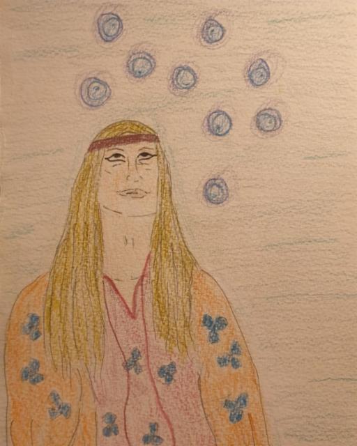 Lanttien yhdeksikkö / Nine of pentacles