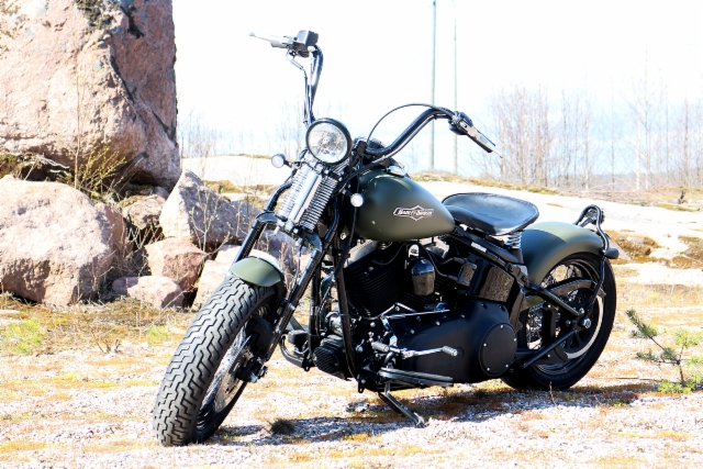 Softail Cross Bones