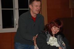 Bill ja Judy (Virpi Felt) hääsviitissä