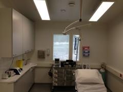 Lääkäriaseman toimenpidehuone